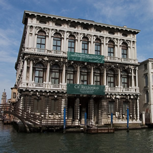 The Ca' Rezzonico in Venice