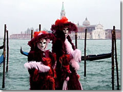 Carnevale in Venice. (Photo by Ines Zgonc)
