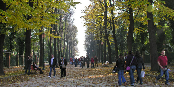 Giardini Pubblici Park Giardini Napoleonici In Venice Italy