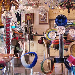 The hand-blown glass of Venice