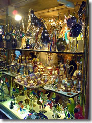 A glass shop in Venice. (Photo by Tarik Ajanovic)