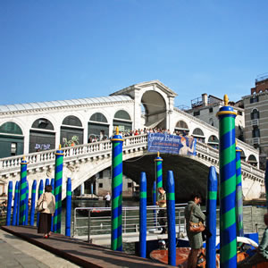 The Ponte di Rialto in Venice