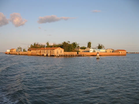 The Isola di San Giacomo in Palude