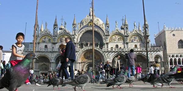 St Mark's and Piazza San Marco, Venice