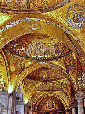 The mosaics of San Marco