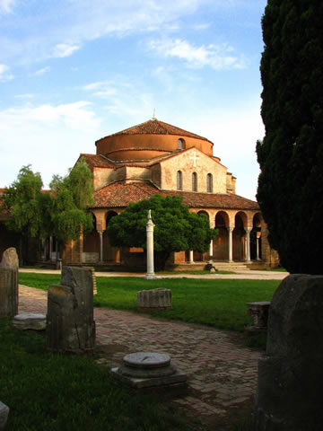 Santa Fosca church Torcello.